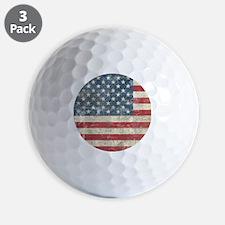 vintageAmerica4Shower1 Golf Ball