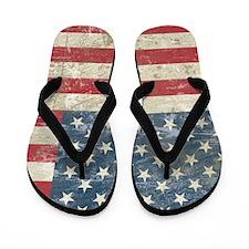 vintageAmerica4Shower1 Flip Flops