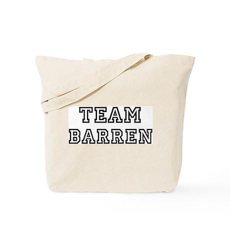 Team BARREN Tote Bag