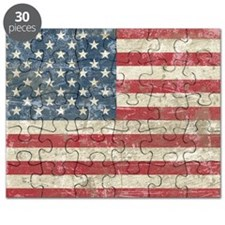 vintageAmerica4Pillow Puzzle