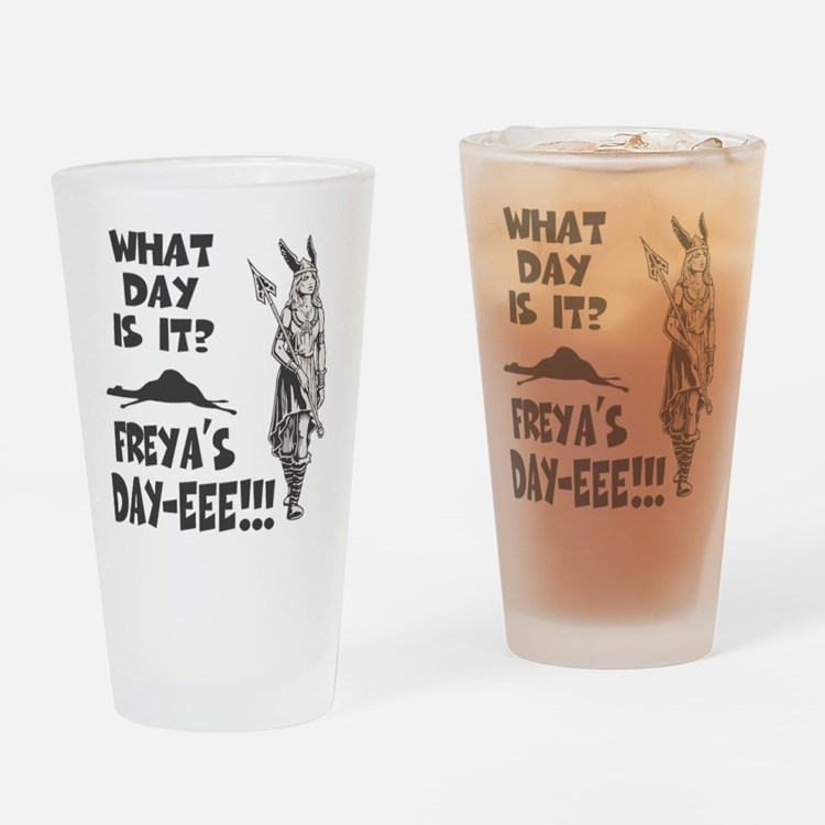 Freya's Day Drinking Glass