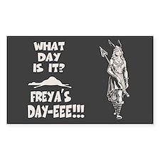 Freya's Day Decal