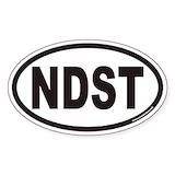 Nudist stickers Single