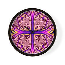 Purple1 Wall Clock