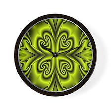 Green1 Wall Clock