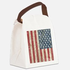 vintageAmerica4Twin Canvas Lunch Bag