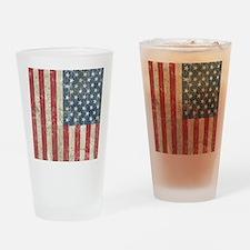 vintageAmerica4Twin Drinking Glass