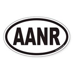 AANR Euro Oval Sticker