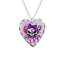 Girly Skull Necklace