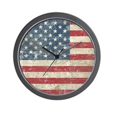 vintageAmerica4King Wall Clock