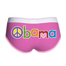 PeaceLoveObamaREV2012 Women's Boy Brief