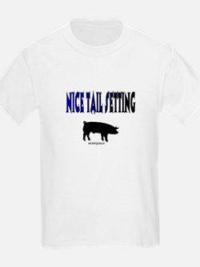 Nice Tail Setting Kids T-Shirt