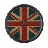 Union jack Giant Clocks