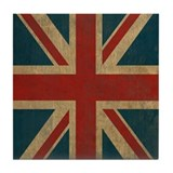 Vintage union jack Drink Coasters
