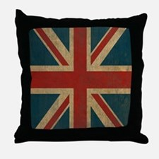UnionJack9SC Throw Pillow