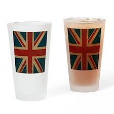 UnionJack9SC Drinking Glass