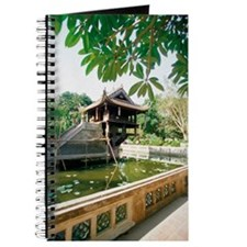 One Pillar Pagoda near a pond, Hanoi, Viet Journal