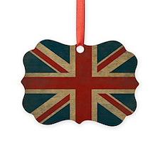 UnionJack9Pillow Ornament
