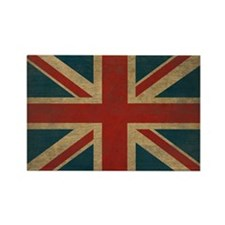UnionJack9Pillow Rectangle Magnet