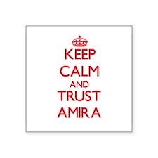 Keep Calm and TRUST Amira Sticker