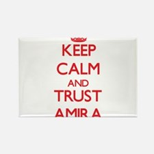 Keep Calm and TRUST Amira Magnets