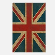 UnionJack9Twin1 Postcards (Package of 8)
