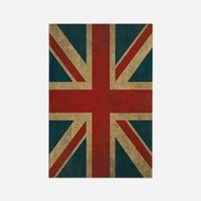 UnionJack9Twin1 Rectangle Magnet