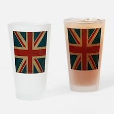 UnionJack9Twin1 Drinking Glass
