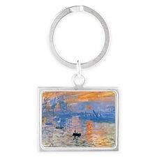 RM Monet Sunrise Landscape Keychain