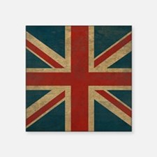 "UnionJack9King Square Sticker 3"" x 3"""