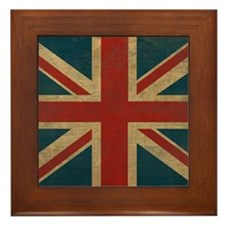 UnionJack9King Framed Tile