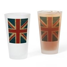 UnionJack9King Drinking Glass