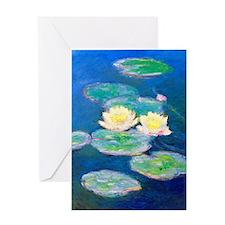 iPad Monet Nym97 Greeting Card