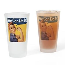 rosie4SC Drinking Glass