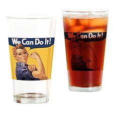 rosie4queen Drinking Glass