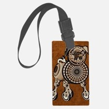 ipad2CoverSteampunkPug Luggage Tag