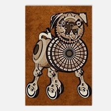 ipad2CoverSteampunkPug Postcards (Package of 8)