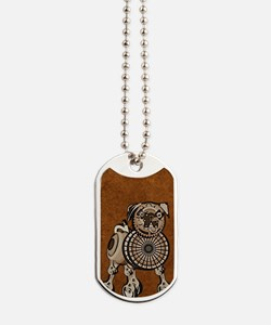 incredibleSteampunkPug Dog Tags