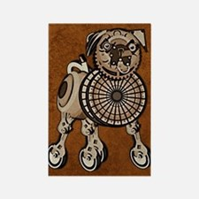 iTouch2caseSteampunkPug Rectangle Magnet