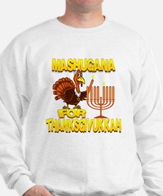 Mashugana For Thanksgivukkah Turkey and Menorah Sw