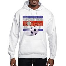 Soccer Flag Costa Rica Jumper Hoody