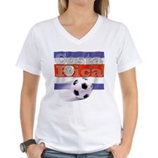 Soccer Flag Costa Rica Shirt