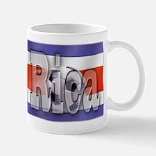 Soccer Flag Costa Rica Mug