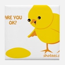 Are you ok? Tile Coaster
