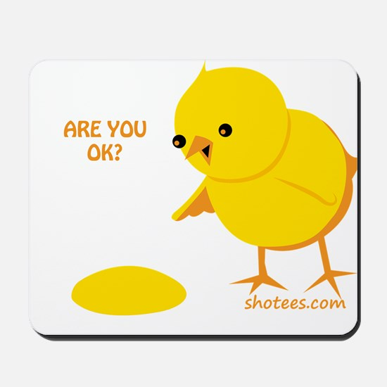 Are you ok? Mousepad