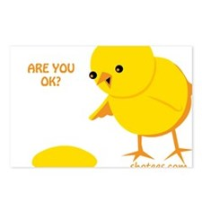 Are you ok? Postcards (Package of 8)