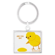 Are you ok? Landscape Keychain