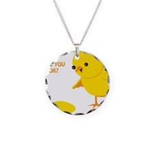 Are you ok? Necklace
