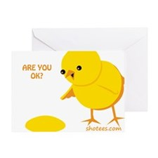 Are you ok? Greeting Card