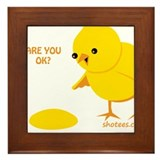 Are you ok egg Framed Tiles